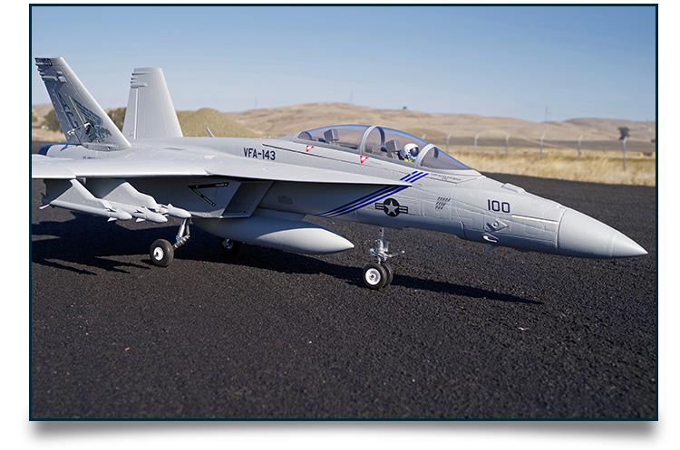 FMS Model New 70mm F18 RC Jet FMS100FMS Model New 70mm F18 RC Jet FMS100