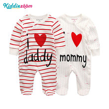 Clothing Sets Baby Girl Clothes Full Sleeve Ropa bebe 0 12M Cotton Bodysuit Costumes Baby Boy Clothes Newborn Baby Clothes