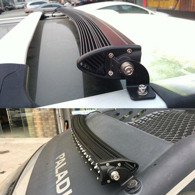 120W 3D dugačak super tanki jednoredni zakrivljeni radni automobil - Svjetla automobila - Foto 5
