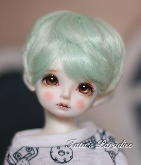 NEW !!  1/ 3 1/4 1/6 1/8 BJD wig short hair  High-Temperature Wire for 1/3 1/4 1/6 1/8 BJD SD dollfie