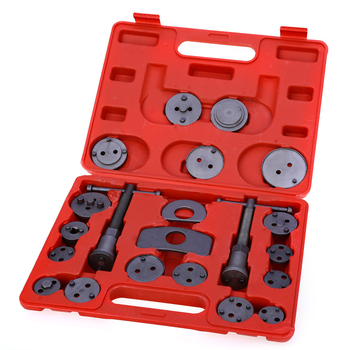 21pcs Universal Disc Brake Caliper Rewind Back Tool Brake Pad Replacement Car Tool Kit Set for Automobiles Garage Repair Tools