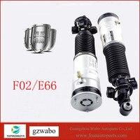 Um par de alta qualidade auto amortecedor de ar do sistema de suspensão a ar 37126796930 37126791676 usado para BM-W F01 F02 740 750 760