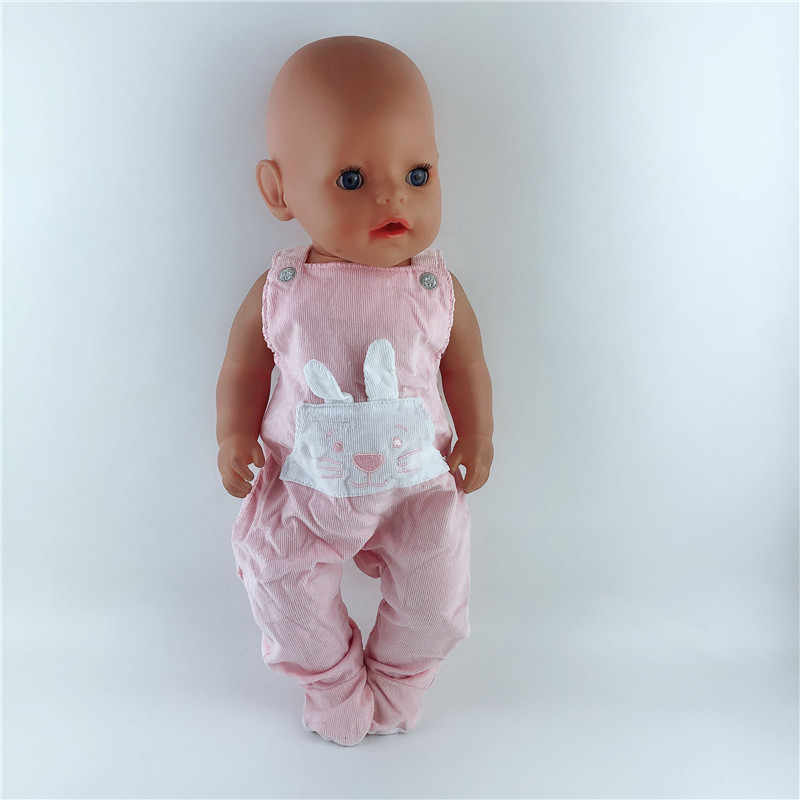 15color Doll Clothes Suit Fit For 43cm Baby New Born Doll 17 Inch Dolls Clothes,Children best Birthday Gift