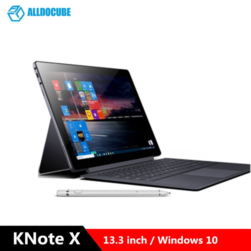 ALLDOCUBE KNote X 2-en-1 tablette PC 13.3 pouces Windows 10 OS Intel Gemini Lake N4100 2.4GHz CPU 8GB RAM 128G ROM