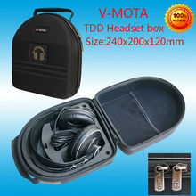 Vmota Headphone boxs for Beyerdynamic DT770 PRO DT880 DT990 T5P T90 CUSTOM ONE PRO T70P T1 DT860 DT911 HIFI headphone suitcas