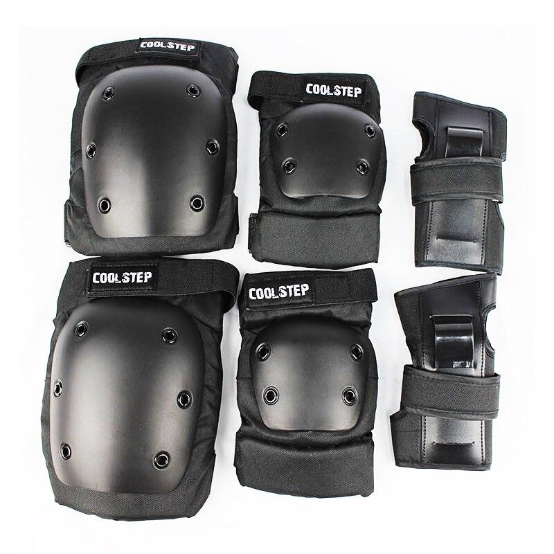 Free Shipping skateboarding gear Outdoor skateboard knee protector Palm ondersteuning Elleboog set Extreme sport