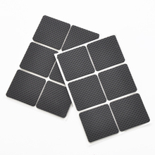 12pcs/set Thicken Soft TPR Non-slip Leg Caps Rubber Feet Protector Pads Furniture Table Covers Square Bottom