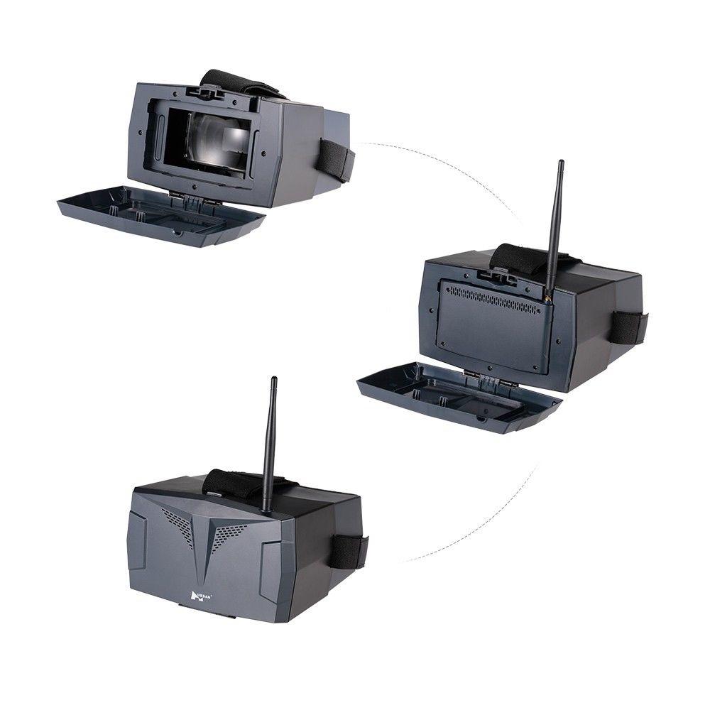 Hubsan H123D X4 ジェット Rc ドローン Quadcopter スペアパーツ HS001 + HV002 ビデオグーグルパック Hubsan H123D 交換アクセサリー  グループ上の おもちゃ & ホビー からの パーツ & アクセサリー の中 2