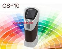Medidor de cor portátil l * a * b delta e l * c * h xyz rgb usb CS-10 medidor de diferença de cor tester
