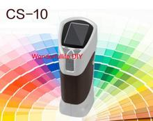 Portable 8MM Colorimeter Color Meter L* a* b Delta E C* h XYZ RGB USB CS-10 Difference Tester
