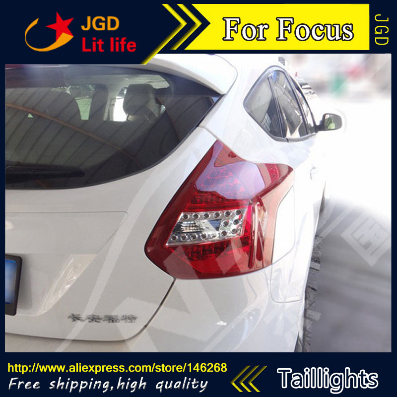 Car Styling tail lights for Ford Focus 2012 2013 2014 LED Tail Lamp rear trunk lamp cover drl+signal+brake+reverse special car trunk mats for toyota all models corolla camry rav4 auris prius yalis avensis 2014 accessories car styling auto