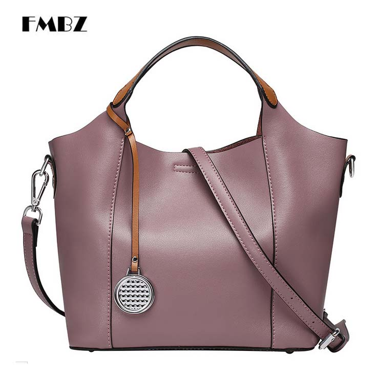 Здесь продается  FMBZ 2018 New Cowhide Woman Bag Fashion Cowhide Tote Bag Women Shoulder Messenger Bag Free Shipping  Камера и Сумки