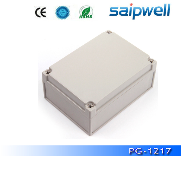 High quality PC IP66 solid cover waterproof junction box DS PG 1217 125 175 75mm from