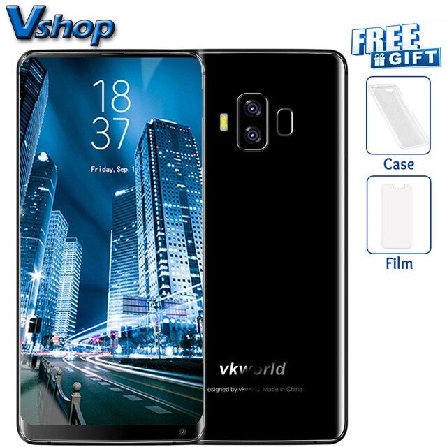 Оригинальный vkworld S8 4 г Мобильные телефоны android 7.0 4 ГБ + 64 ГБ восьмиядерный смартфон Dual задней камерами 5.99 дюймов 18:9 1080 P сотовый телефон