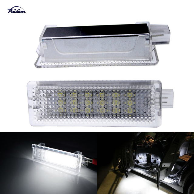 Aliexpress Com   Buy 2pcs Led Courtesy Footwell Under Door Light No Error For Bmw 1  3  5  7series