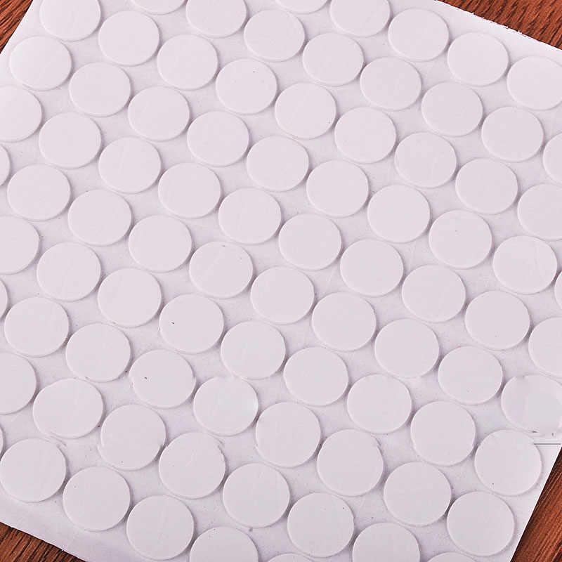 Envío Gratis, novedad, 100 puntos, accesorio globo adhesivos redondos para sujetar globos al techo o pegatinas de globo de pared