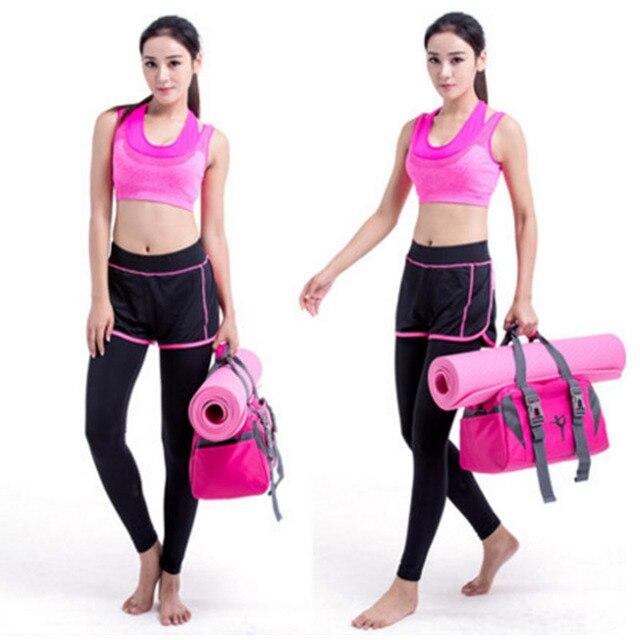 Yoga Mat Bag Fitness Gym Bags Sports Nylon Training Shoulder Sac De Sport For Women Men Traveling Duffel Gymtas 2019 Men XA55WA 5