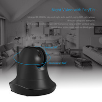 HD 1080P Wireless IP Camera WiFi Baby Monitor Built In Microphone Home Security Surveillance Camera LCC77