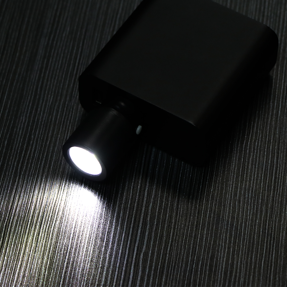 Portable Flashlight 120lm USB Lamp White Light LED Lamp USB Light Powerbank LED Night Light Torchlight With Switch