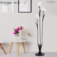 Modern minimalist bouquet floor lamp living room bedroom bedside lamp modern creative fashion LED floor lamp free shipping