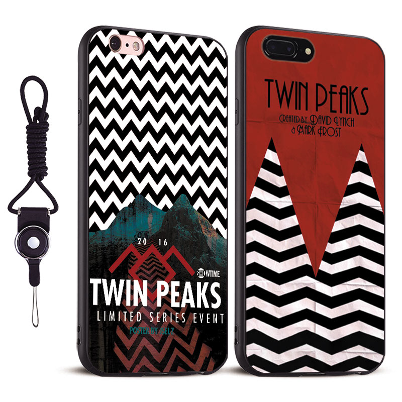 Twin Peaks Coque Tpu Soft Silicone Phone Cases Cover Bag For Apple iPhone X 8Plus 8 7Plus 7 6sPlus 6s 6Plus 6 5 5S SE