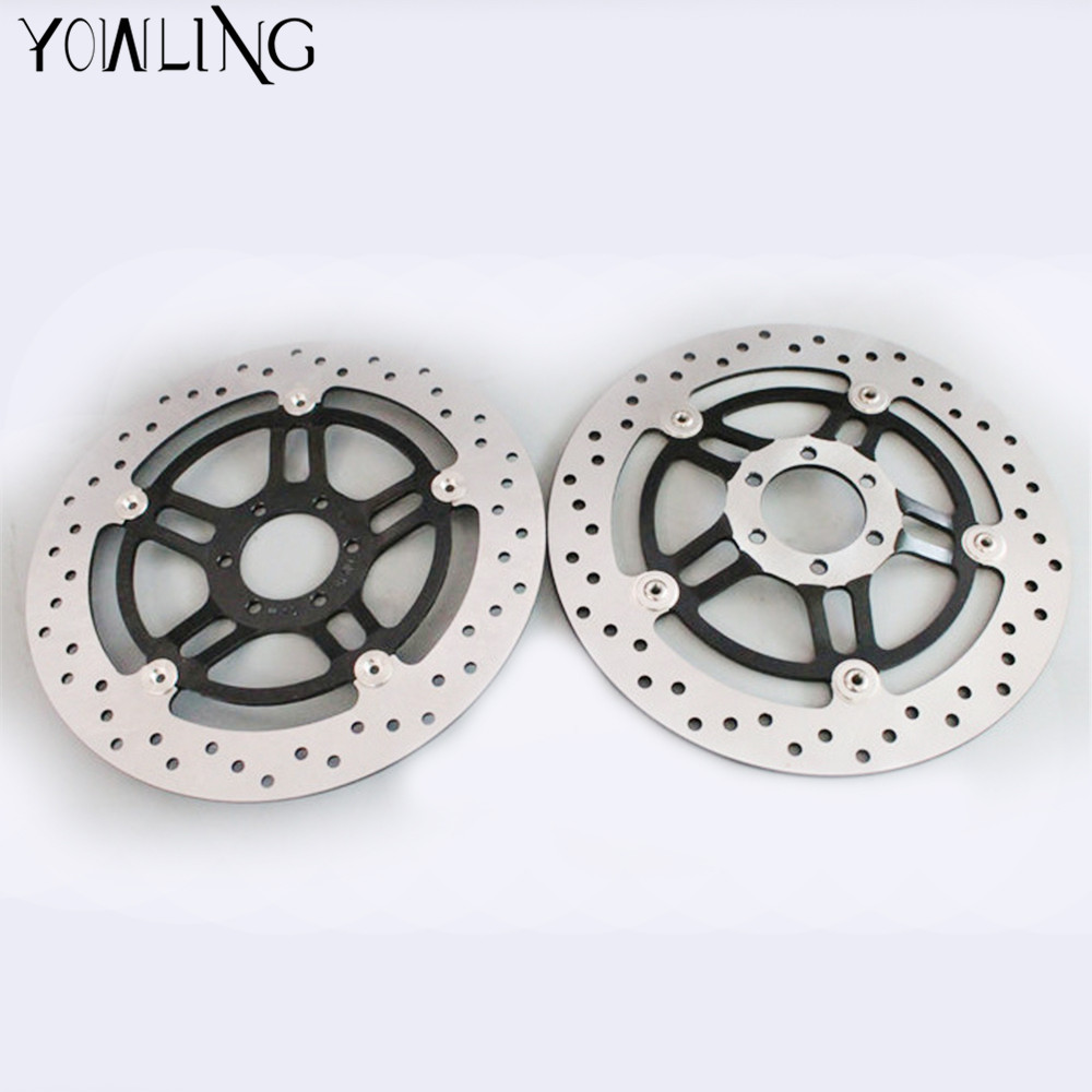 YOWLING motorcycle Parts Accessories Front Floating Brake Discs Rotor for honda Hornet 250 CB250 1996 - 2001 VTR250 1998 - 2007 starpad for lifan motorcycle lf150 10s kpr150 new front brake discs accessories