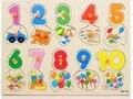 Освобожденный доставка, цифровые головоломки, животных головоломки, деревянные образование игрушки детские игрушки деревянные головоломки игрушки детские развивающие игрушки