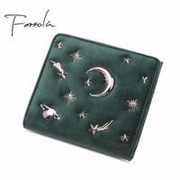 Pre Sell Luxury Women Designer Velvet Wallet Small Zipper Change Coin Purse Credit Cards Holder Hasp