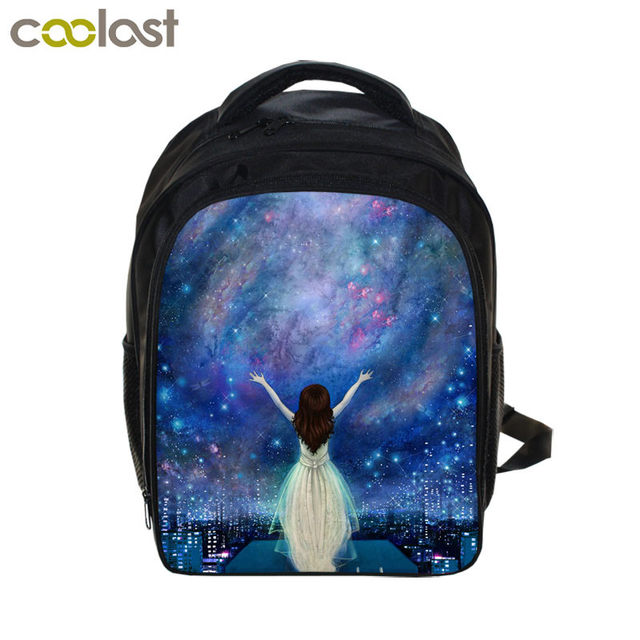 Galaxy Small Backpack For S Boys Bookbag Cartoon Children School Bags E Universe Toddlers Schoolbag Kids Gift