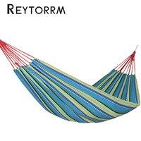Ultralight Single Canvas Hammock Backyard Leisure Hanging Outdoor Travel Sleeping Relax Hamak Bed 190 100cm