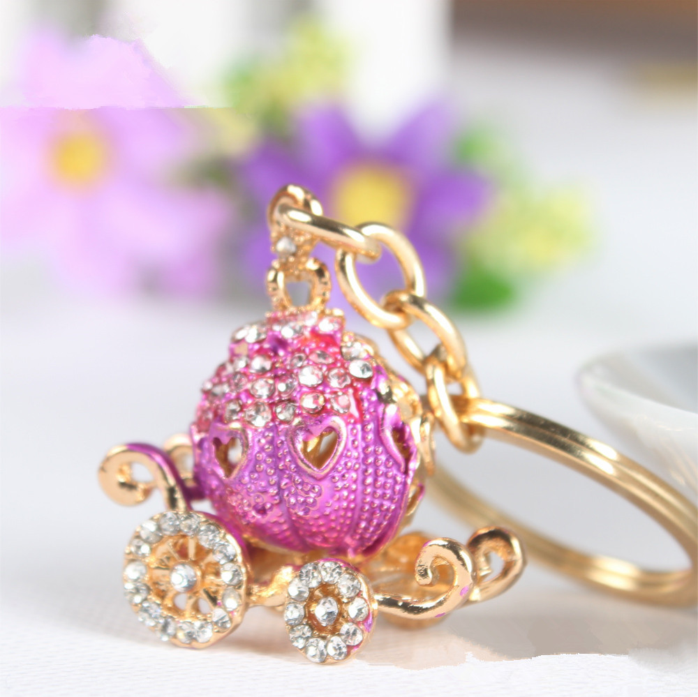Free Shipping Fashion Cinderella Pumpkin Carriage Rhinestone ...