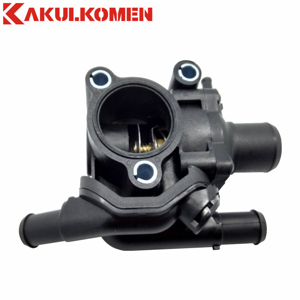 Engine thermostat housing water outlet ys4z 8592 bd for ford escape focus mazda tribute 2 0l 2001 2002 2003 2004 ys4z8592bd