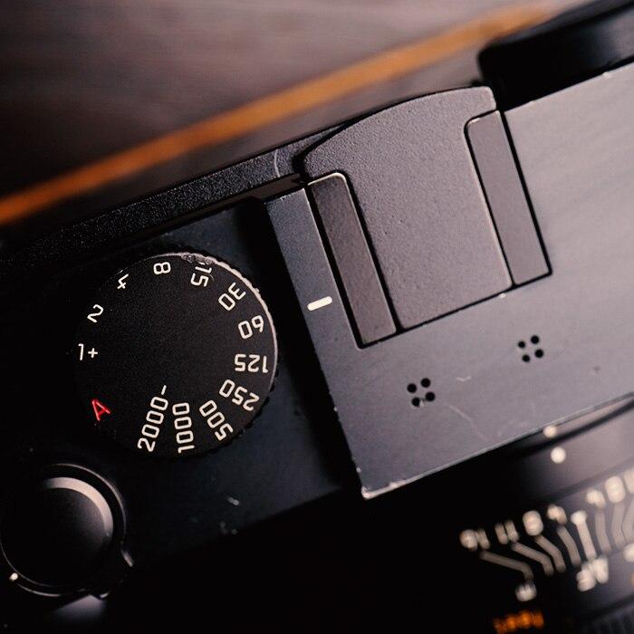 Customized for Leica Q Thumb Grip Up Rest Aluminium Black Hot Shoe Cover