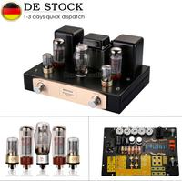 Nobsound Hi end EL34 Vacumm Valve Tube Amplifier Single ended Class A HiFi Stereo Integrated Amp 12W+12W For Home Audio