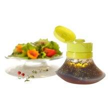 Пластиковая бутылочка для салата, дозатор для приправ, кетчуп, инструменты для горчичного салата, кухонные аксессуары, новая бутылка для выдавливания