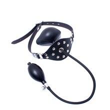 Секс Инструменты для продажи Латекс надувные рот кляп БДСМ фетиш Фэнтези БДСМ бондаж msak рот кляп эротические Игрушки для секс игры.
