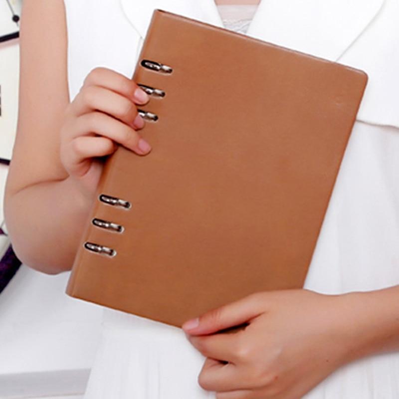 B5Macarons PU-bindmiddel A5 A6-notebook Dagboek Schema boek planner - Notitieblokken en schrijfblokken bedrukken - Foto 3