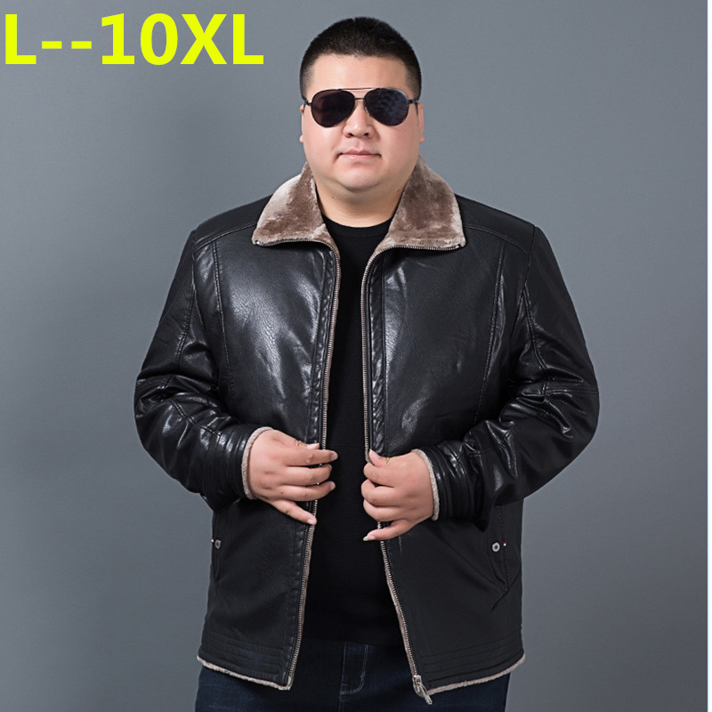 Big 10XL 9XL 8XL 6XL New Arrival Men Genuine Leather Coat Sheepskin Men's Jacket Leather Winter Jackets Mens Shipping Plus Size