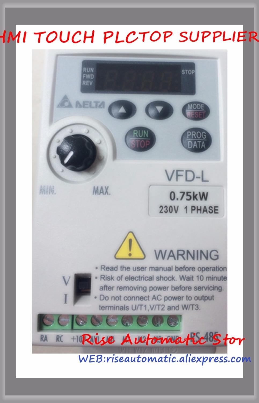 VFD L Inverter AC motor drive VFD001L21A VFD002L21A VFD004L21A VFD007L21A VFD015L21W New Boxed