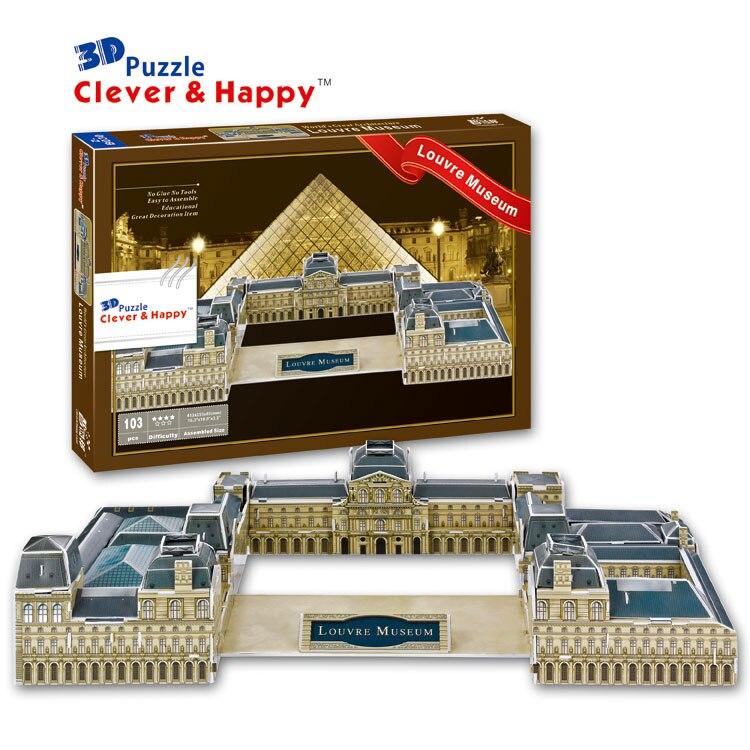 3D puzzle DIY toy paper assemble Imam reza holy shrine Iran dome building 1pc