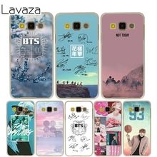 Bts Cover Case for Samsung Galaxy A3 A5 J5 2015/2016/2017 J3 J5 Grand Prime J7
