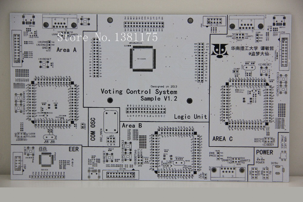 Free Shipping Low Cost Quickturn PCB Boards Prototype Manufacturer Fast PCB Sale 201817 in Single Sided PCB from Electronic Components Supplies