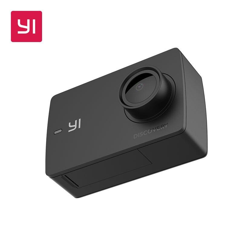 YI descubrimiento de la acción de la Cámara 4 K 20fps deportes Cam 8MP 16MP con 2,0 pantalla táctil Wi-Fi incorporado de 150 grados Ultra ancho ángulo