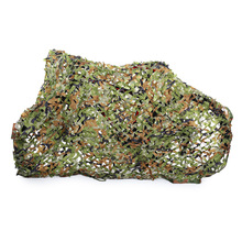 2×2/ 2×3/ 2x4m Woodland Camouflage Net Military Hunting Camping Tent Car Shade Cover Strong Outdoor Awning Shelter Sunshade Net