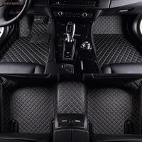 ZHAOYANHUA Car floor mats for Mercedes Benz X164 X166 GL GLS class GL350 GL450 GL550 GLS350 GLS350 GLS450 GLS500 GLS550 car styl