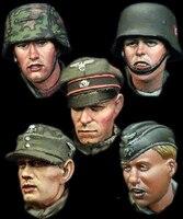 Al H011 1/35 Второй мировой войны Пособия по немецкому языку вооруженных ss рисунок 3