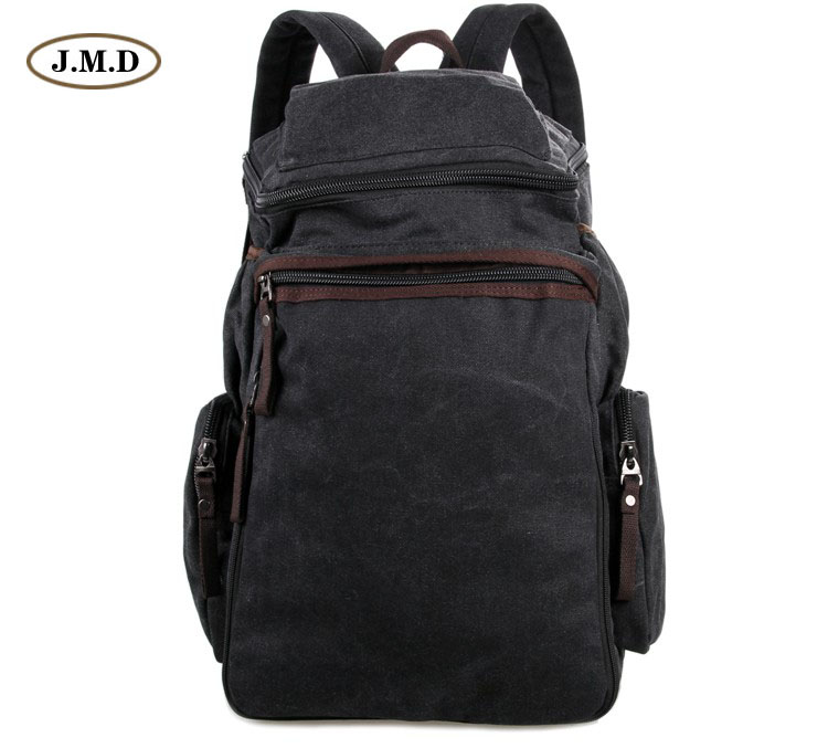 J.M.D Excellent Canvas Fashion College Backpack Large-Capacity Travel bag Multi-Compartment Design 9016A 9016C коробка для мушек snowbee slit foam compartment waterproof fly box x large