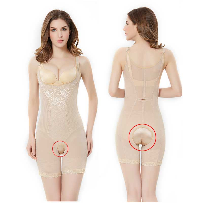 021ef09538aaa Summer Slimming Easy to toilet butt lifter Underwear Women Underbust Waist  Corset Body Shaper Corrective Underwear Control Pants-in Bodysuits from  Underwear ...