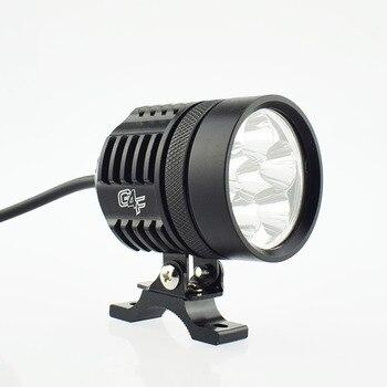 moto work lamp led 12v 60w super bright Motorbike fog spot lights spotlights car headlamp auxiliary lamp