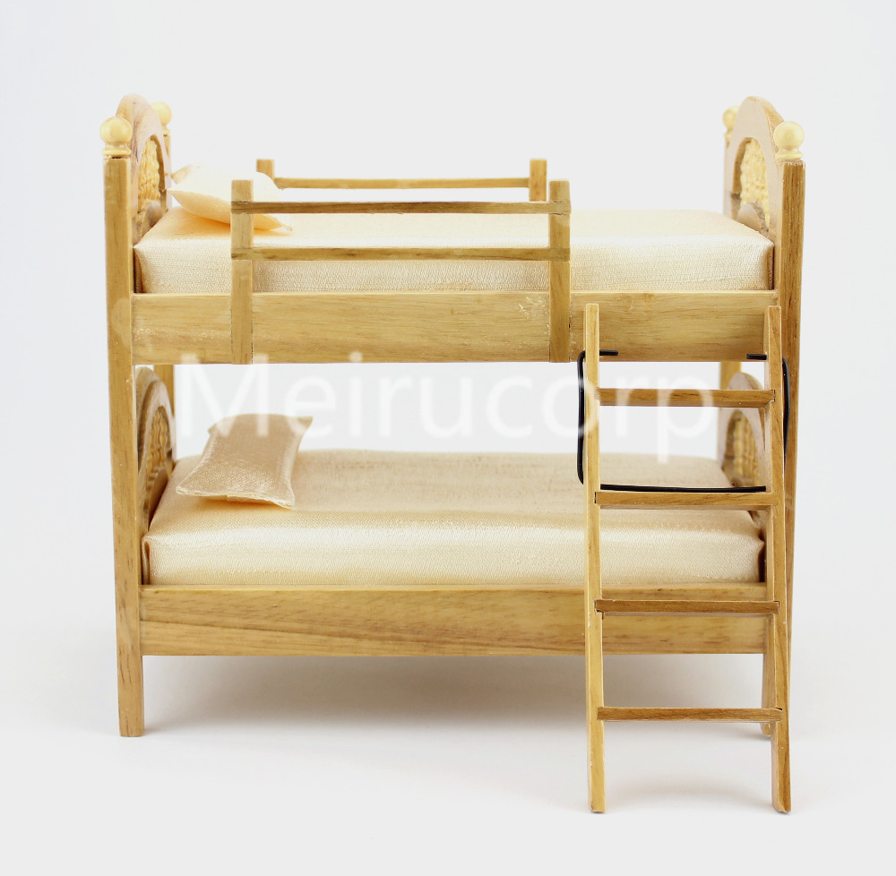 DOLLHOUSE 1/12 SCALE MINIATURE FURNITURE WELL MADE BUNK